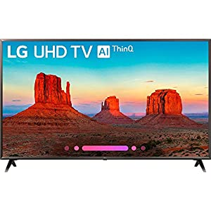 LG 65UK6300PUE 65-Inch 4K Ultra HD Smart TV (2018 Model)