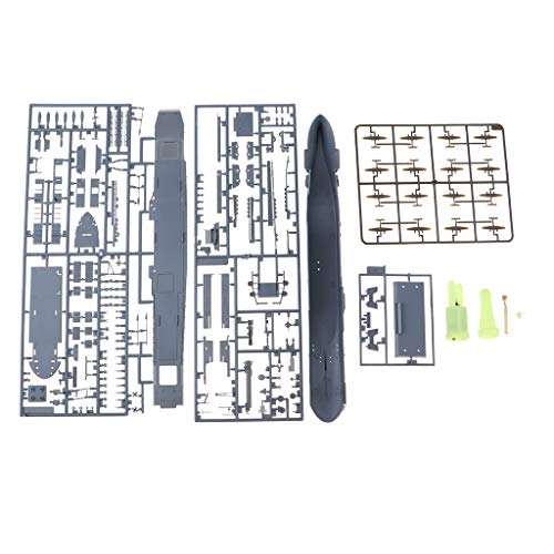 (SM SunniMix 1/700 Scale Watercraft Model Kits U.S Navy USS Aircraft Carrier Hornet CV-8)