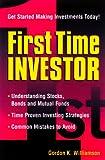 First Time Investor, Gordon K. Williamson, 1580622887