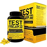 Pharmafreak Test Freak - #1 Selling Testosterone Booster - Hybrid Pro - Testosterone Stimulator - 120 Capsules - Boost Testosterone - Helps to Increase Muscle Mass, Energy, Stamina, Libido and Recovery Time - Guaranteed 2 Year Shelf Life!