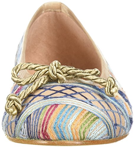 French Sole FS/NY Womens Bluebell Ballet Flat Natural WpixsR