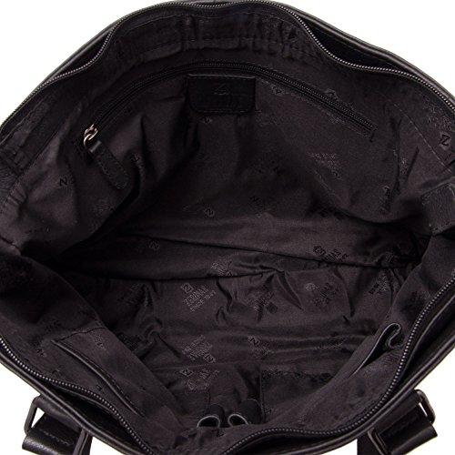 Zerimar Bolso Mujer   100 % Piel Alta Calidad  Bolso Señora   Bolso de Mano   Bolso Grande   Bolso Pequeño   Múltiples compartimentos   Medidas: 39 x 25 x 9 cms