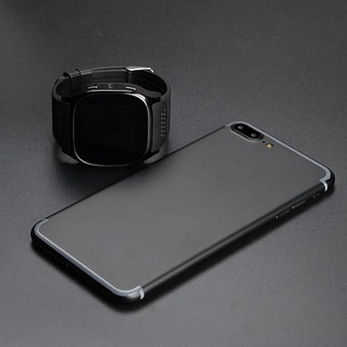 T8 Bluetooth Sport Smartwatch KeepGoo Pantalla Táctil Simslot Monitor Podómetro Reproductor de Música Recordatorio de Llamada para iPhone Android, 0.02, ...