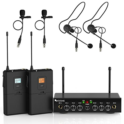 Wireless Microphone SystemFifine UHF