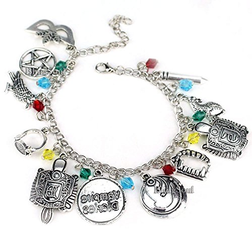 BlingSoul The Vampire Diaries Damon Merchandise Bracelet -