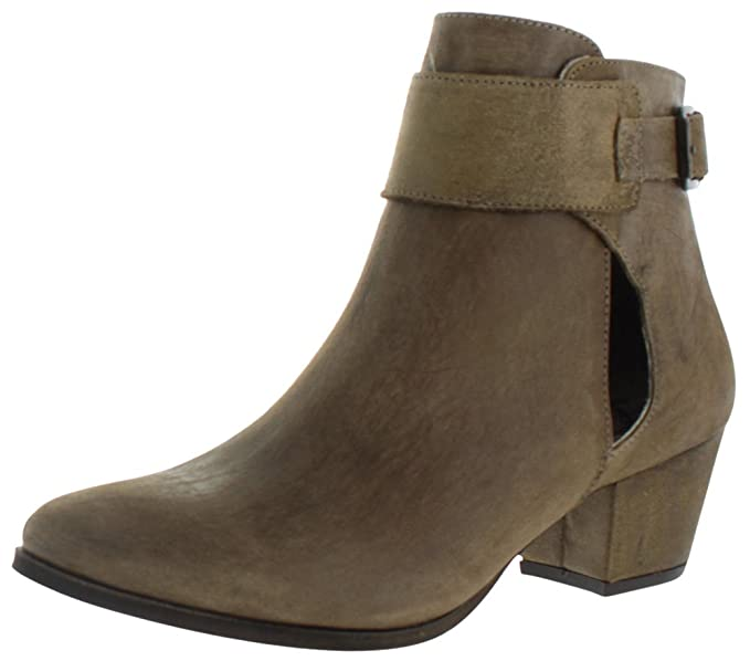 434b65a4f50c Amazon.com  New Free People Women s Belleville Ankle Boot Rubber Leather  Black  Clothing