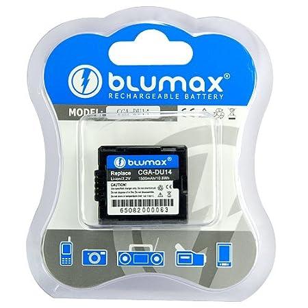 Blumax Ladegerät für Panasonic NV-GS60 EG-S NV-GS75 NV-GS80 EG-S NV-GS80EG-S