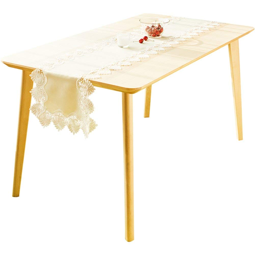 Nappes Et Accessoires Table De Café Nappe En Dentelle Blanche Pour