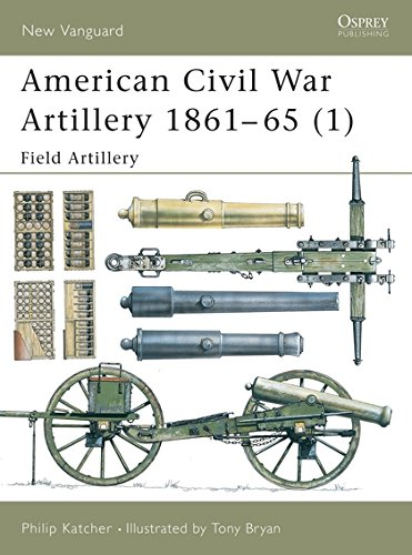 American Civil War Artillery 1861–65 (1): Field Artillery (New Vanguard) (Pt.1) ()