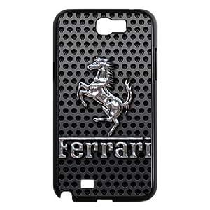 Samsung Galaxy Note 2 N7100 phone cases Black Ferrari Phone cover PQS5152567