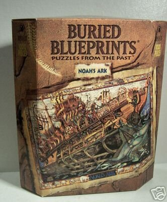 Ark Jigsaw Book Noahs - Buried Blueprints Noah's Ark