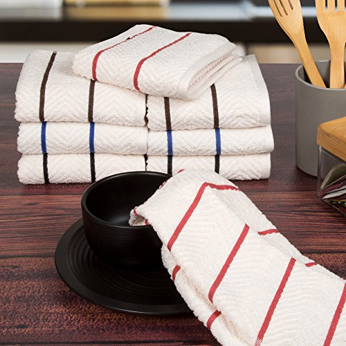 Lavish Home Cotton Chevron Kitchen product image