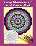 img - for Easy Mandalas 2: Adult Coloring Book book / textbook / text book