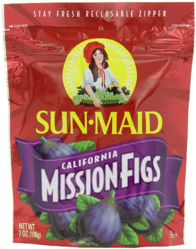 Sun Maid California Mission-Figs, 7-Ounce Pouches (Pack of -