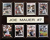 MLB Minnesota Twins Joe Mauer Eight Card Plaque