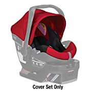 Britax B-Safe 35 Infant Car Seat Cover Set, Red