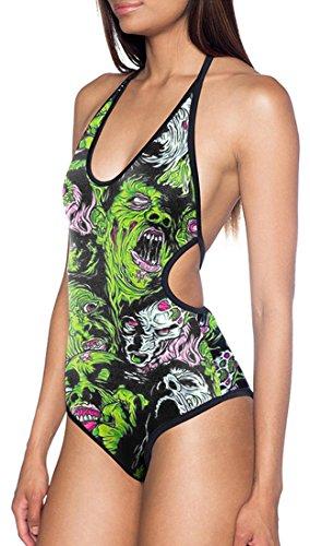 THENICE Mujer Bikini Trajes de una pieza devil