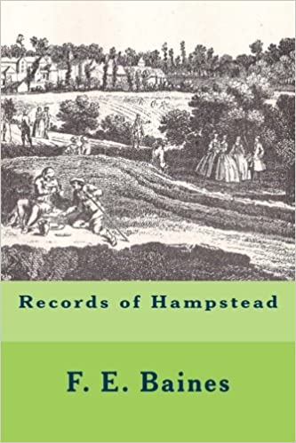 Records of Hampstead book