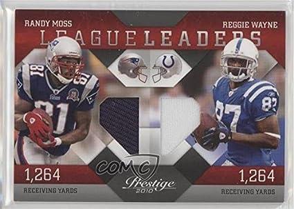 44f4956d1b3 Amazon.com  Randy Moss  Reggie Wayne  208 250 (Football Card) 2010 ...