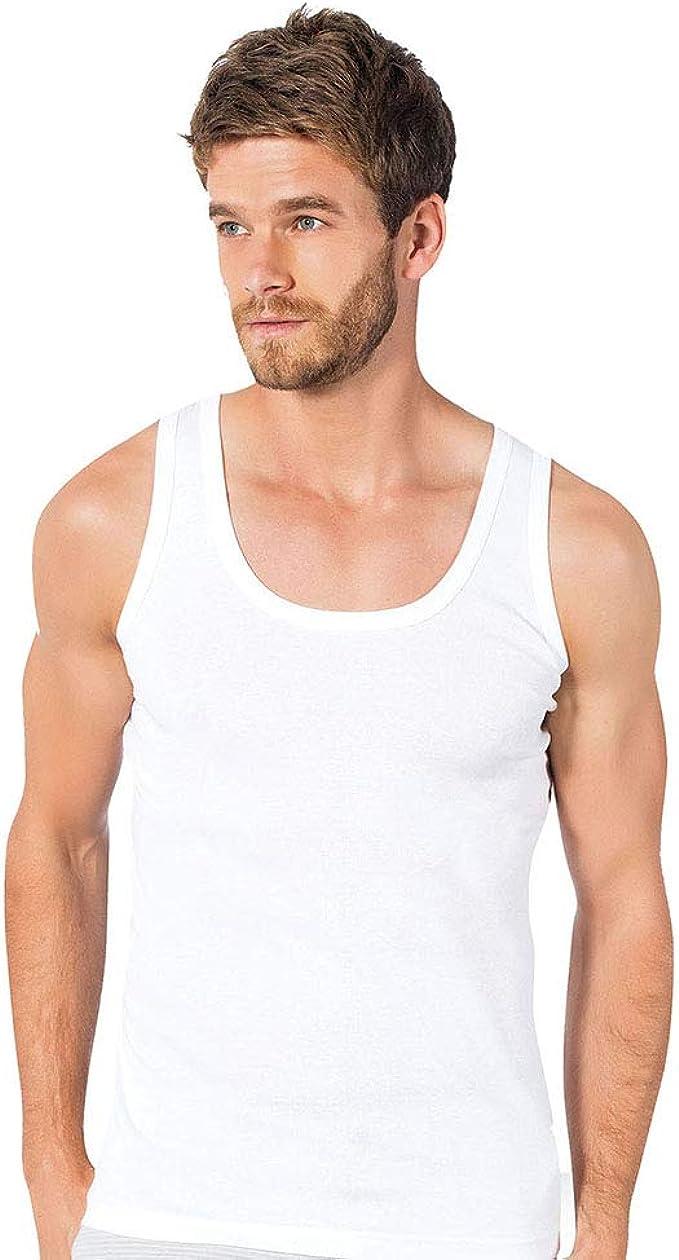 Donex 2110 - Camiseta Interior de Tirantes para Hombre (100% algodón): Amazon.es: Ropa y accesorios