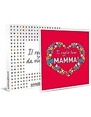 Smartbox Ti Voglio Bene Mama geschenkdoos voor dames, cadeau-ideeën, 1 verblijf van 1 nacht of 1 Aena of 1 wellnesspauze of 1 sportactiviteit voor 1 of 2 personen