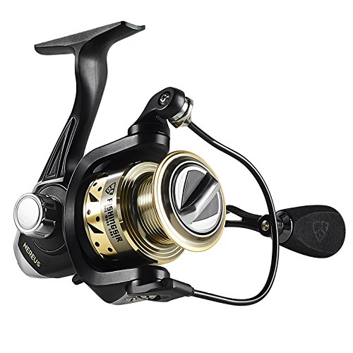 FISHINGSIR Nereus Spinning Fishing Reel 9 + 1 BB Powerful Drag System Ultra Smooth for Freshwater Saltwater Fishing Spinning Reel