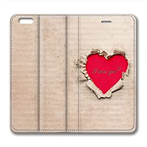 Rose Ring Personalized Design Brand New Iphone 6 Leather Case I Miss You