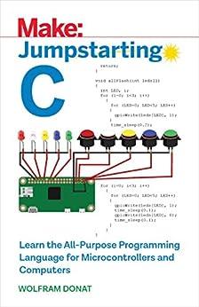Jumpstarting C by [Donat, Wolfram]