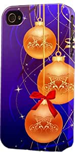 Golden Christmas Ornaments Dimensional Case Fits iPhone 6