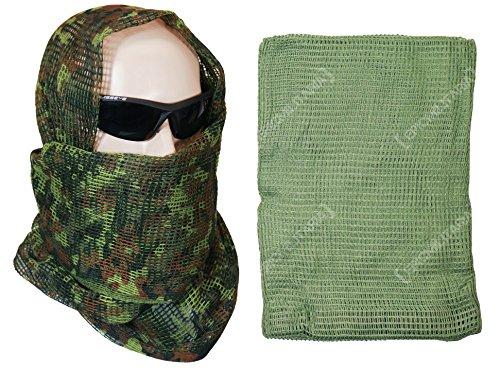Olive Drab Head Nets (Mil-Tec Tactical Net Scarf (Olive Drab))