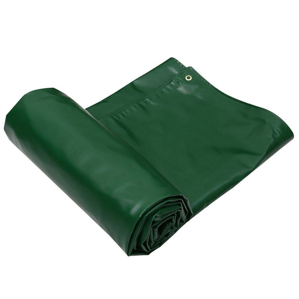 GUOWEI-pengbu ターポリン シェード 日焼け止め 防水 老化防止 腐食保護 不凍液 耐摩耗性 ポリエステル糸 屋外 (色 : Green, サイズ さいず : 2.9x1.9m) B07FZ7VTTM 2.9x1.9m|Green Green 2.9x1.9m
