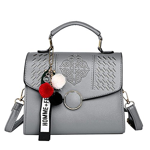 Aoligei Simple épaule sac croix diagonale simple broderie sac à main petit carré bracelet pendentif fashion A