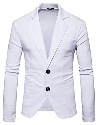 Blazer Slim Fit Blazer Traje Casual Chaqueta Leisure Outwear ...