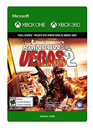 Tom Clancy's Rainbow Six Vegas 2 - Xbox 360 / Xbox One [Digital Code]