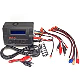 B680AC AIR Dual Power (6Amps, 80Watts): LiPo, LiIon, LiFe, NiCd, NiMh AC/DC Balancing Battery Charger w/ Deans T-Plug, EC3/EC-3, XT60/XT-60, HXT3.5mm Bullet Walkera, Tamiya Mini Plugs
