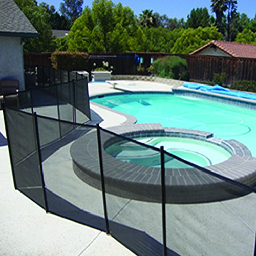 Safety Removable Pool Mesh Fence Child Barrier 4ft X 12ft