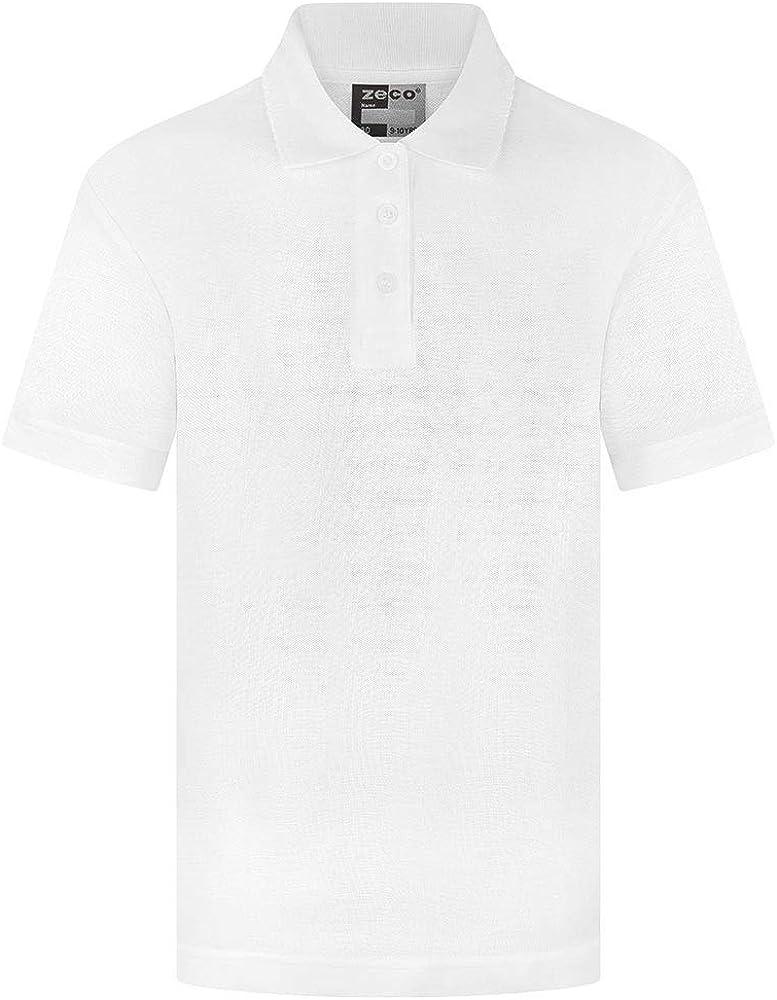 School Uniform 365 - Polo - para niña Blanco Blanco (13 años ...