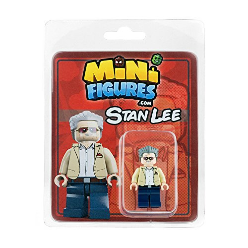 Custom Design Minifigure - Stan Lee (Lego Custom Minifigures)