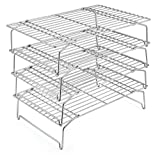 4-Tier Cooling Rack Set, P&P CHEF Stainless Steel