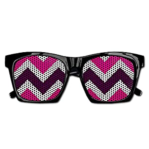 Fashion Party Sunglasses Zig Zag Clip Art Resin Frame Party Favors Sunglasses Eyewear For Men Women