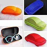 Car Shaped Kids Zipper Sun Glasses Eyeglasses Protector Eye Hard Case Box Holder