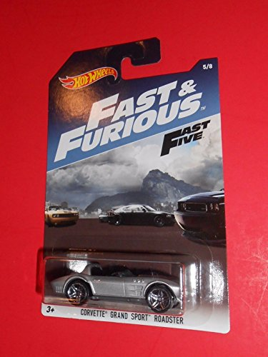 (HOT WHEELS FAST & FURIOUS CORVETTE GRAND SPORT ROADSTER 5/8 FAST FIVE)