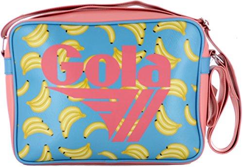 Gola Tasche Redford Midi Fruit Cub477eu 30x 22x 8–blue/pale Coral Bananen