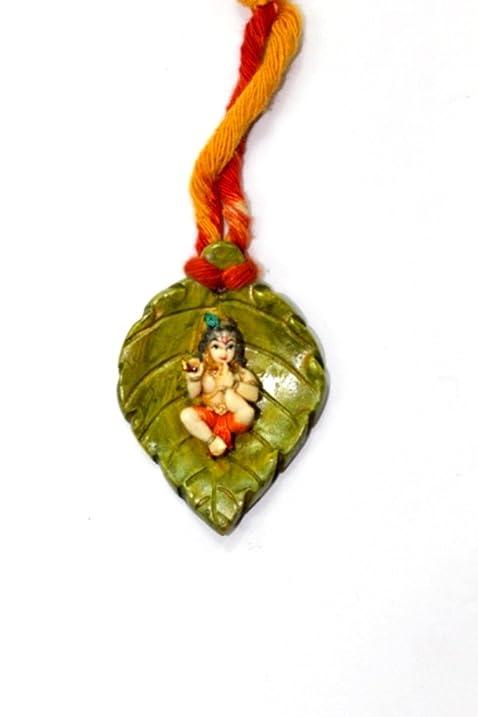 Amazon.com: Amba Handicraft Diwali PAN ORGANE KRISHNA WALL ART: Home ...