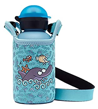 Laken HIT Thermo Vacuum Insulated Stainless Steel Water Bottle Narrow Mouth 1...