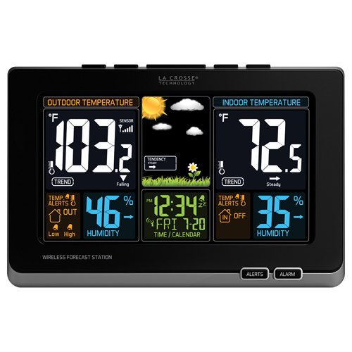 la-crosse-technology-308-1414b-wireless-atomic-digital-color-forecast-station-with-alerts-black