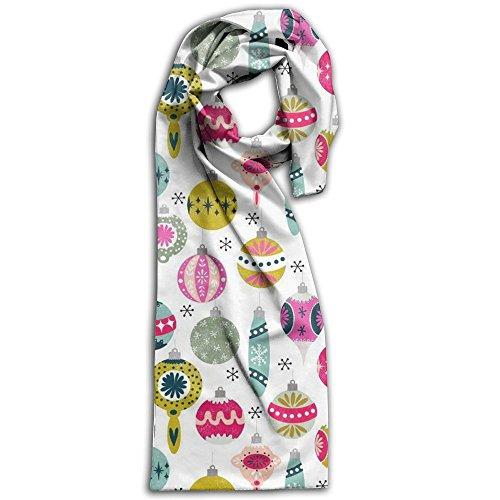 Wdhugsd2he7 Christmas Ornaments Women's Blanket Winter Scarf Warm Cozy Wrap Oversized Shawl Cape