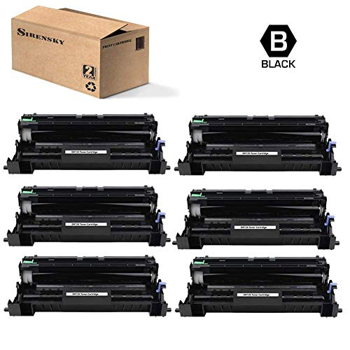 DR720 Drum Unit 6 Pack High Yield Replacement for Brother DCP8110N DCP8150DN DCP8155DN HL5440DW HL5470DWT HL6180DW MFC8510DN MFC8710DW MFC8810DW MFC8910DW Printer, Sirensky Brand (Black)