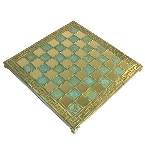 reek Key Oxidized Metal Chess Board ()
