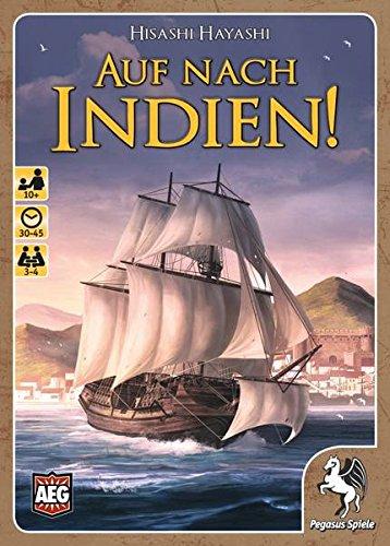 Pegasus Spiele 18310G - Kartenspiele, Auf nach Indien